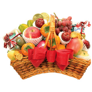 Fancy Fruit Basket F