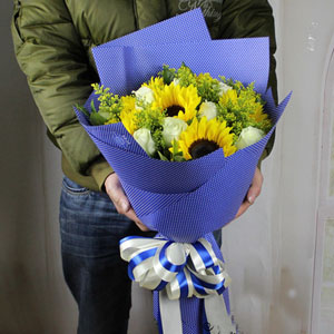 Bright shine B nanning flowers delivery