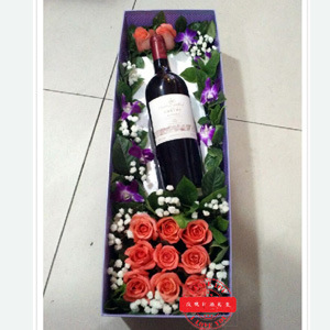 flowers and wine china flower delivery
