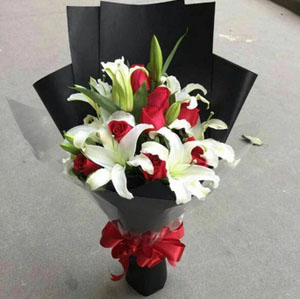 In your heart send flowers to tianjin